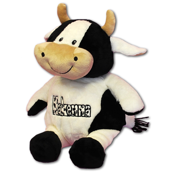 personalized cow