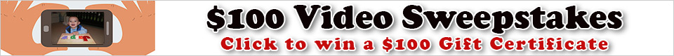 $100 Video Sweepstakes
