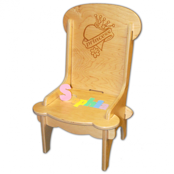 Child S Puzzle Chair Princess Engrave Damhorst Toys