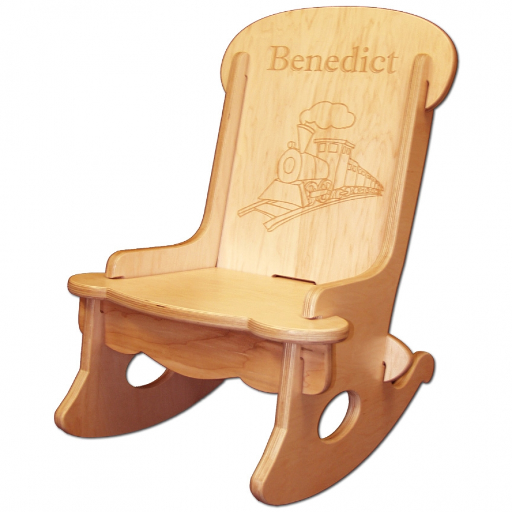 Child S Engraved Rocking Chair Damhorst Toys Amp Puzzles