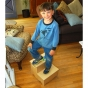 Two Step Name Puzzle Stool Primary Damhorst Toys