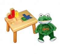 name stool and frog