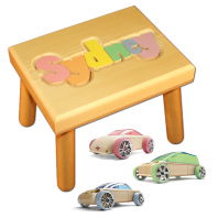 pastel name stool and automoblox