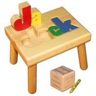 name stool and birth block