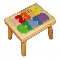 Number Step Stool
