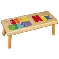 Name and Number Stool