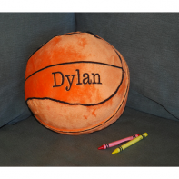 embroidered basketball