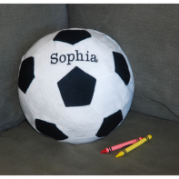 embroidered soccer ball
