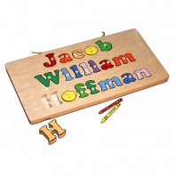 Personalized My Name Board Puzzle