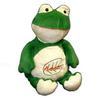 personalized stuffed frog