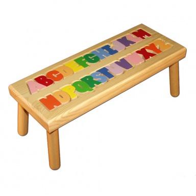Alphabet Puzzle Stool Damhorst Toys Amp Puzzles Inc Store